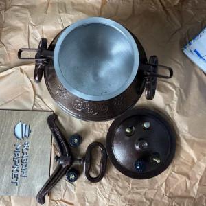 Афганский казан-скороварка на 8 литров + Половник