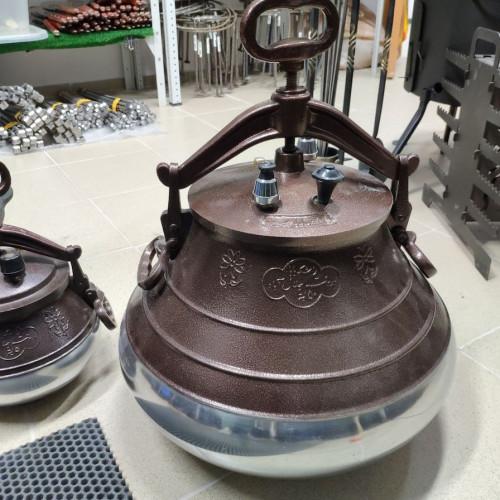 Купить Афганский казан-скороварка на 50 литров + Половник