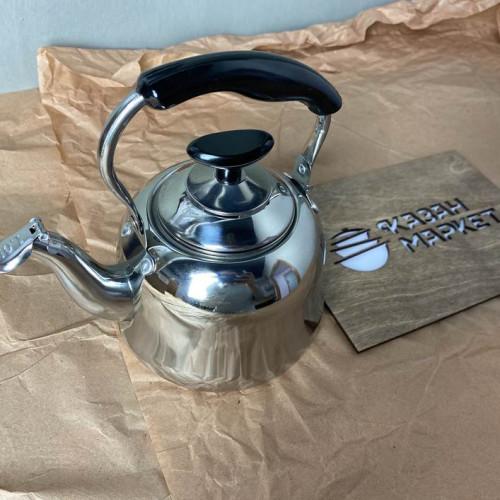 Чайник из нержавеющей стали, 1 литр