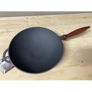 Чугунная сковородка WOK, 26см