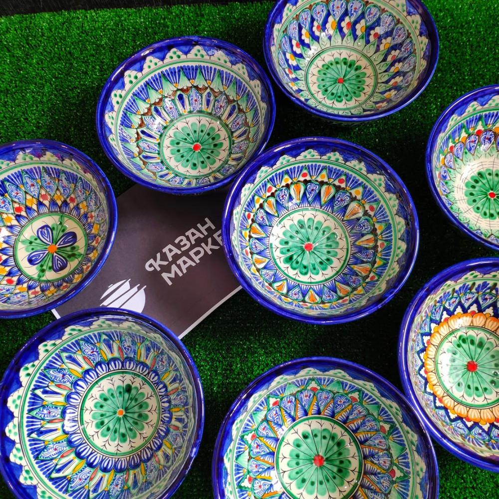 Тарелка для первых блюд узбекская